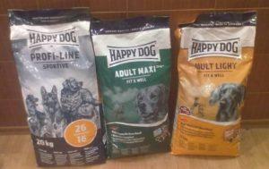 покупка корма для собак хэппи дог
