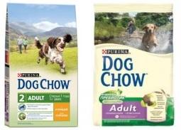 дог чау корм для собак щенки