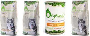 органикс корм для собак