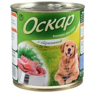 оскар консервы для собак