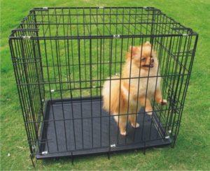 металлическая клетка для транспортирования собак