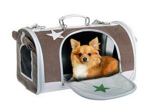 мягкие модели переносок для мелких пород собак