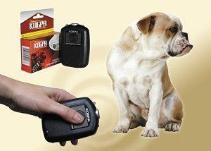 отпугиватель и собака
