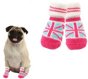 носки из трикотажа для собак